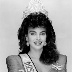 Barbara Palacios Miss 1986