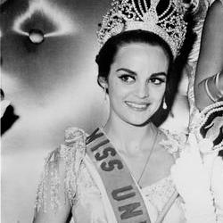 Corinna Tsopei Miss Universe 1964