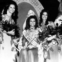Georgina Rizk Miss Universe 1971 Winner