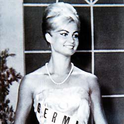 Marlene Schmidt Miss Universe 1961 Winner