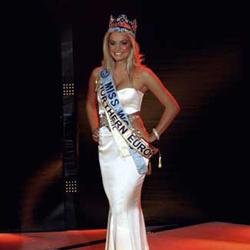 Tatana Kucharova Miss World 2006