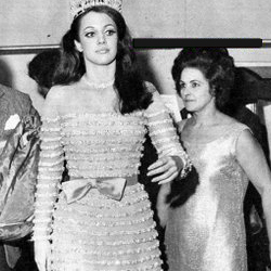 Martha Vasconcellos Miss Universe 1968 Winner